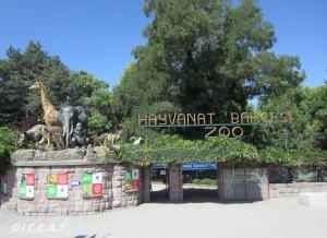 Entree du zoo'